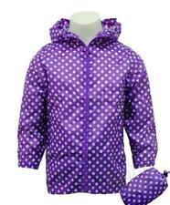 Abbigliamento impermeabili viola per bambine dai 2 ai 16 anni