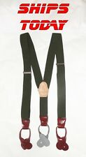 Suspenders 6 Button Y Trouser Braces Soviet Military Issue Reenactment Classic