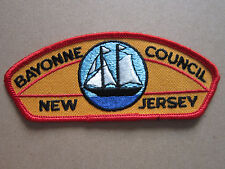 Bayonne Council New Jersey Flap BSA Woven Cloth Patch Badge Boy Scouts Scouting