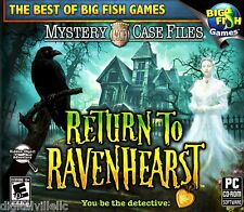 Mystery Case Files Return to Ravenhearst Brand New Sealed Fast Shipping