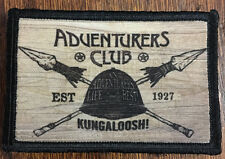 Adventurers Club Kungaloosh Morale Patch Disney Pleasure Island Pith Helmet