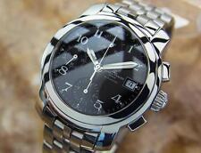 Baume Mercier Capeland Mens Luxury Swiss Made Chronograph SS Watch 2010 G37