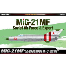 [Free Shipping] ACADEMY 1/48 Plastic MIG-21MF Soviet Air Force & Export #12311