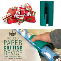 ✨Buy More Save More✨ -Sliding Wrapping Paper Cutter-Makes Cuts In Seconds