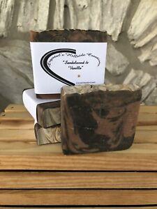 sanalwood & vanilla soap