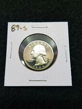 1989-S,,,,US PROOF QUARTER,,,,FROM US PROOF  SET