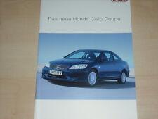 61254) Honda Civic Coupe Prospekt 12/2003