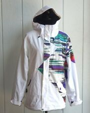 VOLCOM WOMENS STYLISH MULTI-COLOR SNOW BOARDING JACKET THERMONITE (10,000) (MM)