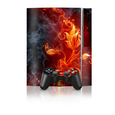 Sony PS3 Console Skin - Flower Of Fire - DecalGirl Decal