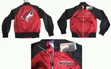 RBK ARIZONA COYOTES WOMEN'S SHINY SATIN JACKET SMALL