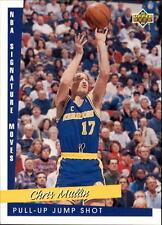 1993 94 Upper Deck NBA Signature Moves #241 Chris Mullin Golden State Warriors