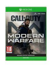 Call of Duty: Modern Warfare (Xbox One, 2019) Please Read description first .