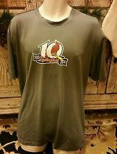 Gray Springfield Cardinals Mercy Jersey T-Shirt Minor League AA Large