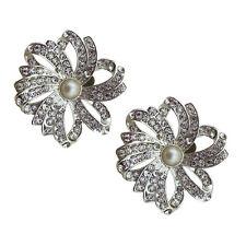 "Jewelled Shoe Clips, Shoe Jewels, Bridal Prom Shoe Accessories (1 Pair) ""Alyssa"""