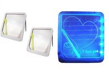 LED DISPLAY WRITING BOARD FREE STANDING WITH PEN NOTE PAD SHOP HOME OFFER PRICE