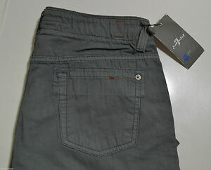 "Seven 7 for All Mankind MEN'S Jeans GRAY CARGO PANTS COMFORT 31X32"" *NEW TAGS*"