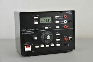 Lab-Volt 1247-00 Digital Multimeter AF Generator