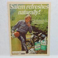 1973 SALEM CIGARETTE R. J. REYNOLDS TOBACCO CO. ADVERTISEMENT