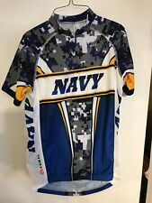 Primal Wear United States Navy (USN) Blue Camo Cycling Jersey Men s Small  GUC 009366cd8
