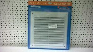 GRIGLIA AERAZIONE SOVRAPPOSTA C/RETE ANTISETTI AR2323B 227X227MM