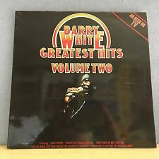 BARRY WHITE Greatest Hits Volume Two 1977 UK vinyl LP EXCELLENT CONDITION best
