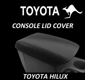 FITS TOYOTA HILUX NEOPRENE CONSOLE LID COVER (WETSUIT FABRIC) JUNE 2005-AUG 2015
