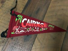 1960's Cairns Souvenir Felt Pennant