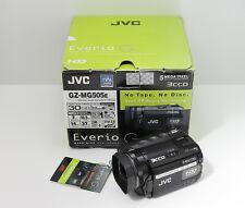 JVC EVERIO GZ-MG505E CAMCORDER BOXED 3CCD 30GB HARD DISC DRIVE DIGITAL VIDEO CAM