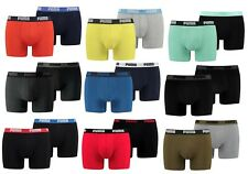 6er Pack Puma Herren Basic Boxer Short Boxershorts Pants Unterhose M L XL XXL