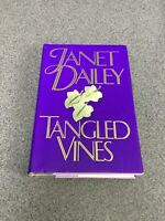 Tangled Vines by Janet Dailey (1992, Hardcover) F3A