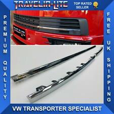 T6 Transporter Chrome Trims 3 Pcs For Lower Grille 15 Onwards Brand New