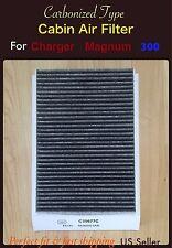 CABIN AIR FILTER Charger Magnum Chrysler 300 CARBONIZED C35677 04596501AB