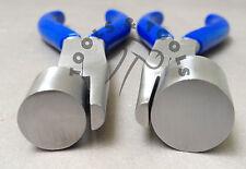 Set di 2 pezzi gioielli Wrap & RUBINETTO PINZE Anello Formante cauzione complessivamente 14 mm & 20 mm