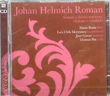 2ercd Johan Helmich Roman - Sonata A Flute Traverso, VIOLONE E Harpsichord