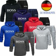 2021Herren Jogginganzug 2 Stück Trainingsanzug Sweatshirt Sportanzug Polyanzug