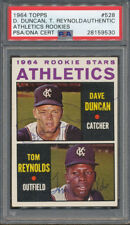 1964 Topps #528 Dave Duncan Tom Reynolds PSA/DNA Certified Auth. Signed *9530