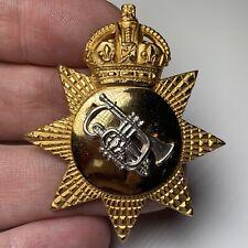 WW2 Pattern - British Army Musician Bandsman Cap Badge - Original Bandsmen Music