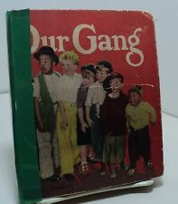 Our Gang by Charles T Clinton - Saalfield  - 1934 - Little Big Book
