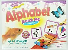 Alphabet Match Me Game Homeschool Educational Matching Memory Skills Learn New