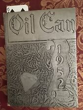1952 Oil City High School Yearbook PENNSYLVANIA Oil Can 75th Anniversary RARE