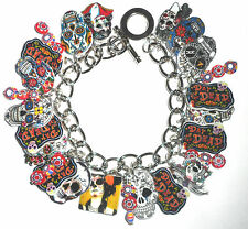 DAY OF THE DEAD BRACELET CHARMS CELEBRATE MEXICAN HOLIDAY BEADS