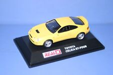 TOYOTA CELICA GT-FOUR 1/72 Yellow REAL-X JAPAN