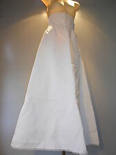 Vintage 50s Whirl N Swirl Formal Wedding Gown Dress HalfSlip Maxi Mod Rockabilly