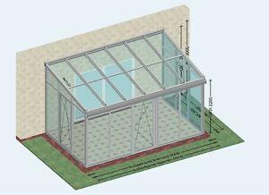 Wintergarten ganz aus Alu 5,0 x 3,0 m direkt vom Hersteller