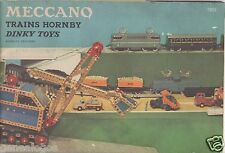 RARE ORIGINAL CATALOGUE DINKY TOYS MECCANO TRAINS HORNBY 1959 COMPLET 36 PAGES