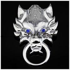 FINAL FANTASY 7 SPILLA BADGE GRANDE PIN COSPLAY CLOUD STRIFE ADVENT CHILDREN #2