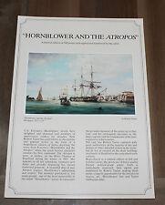 Robert Taylor - Hornblower and the Atropos - Aviation Art FLYER