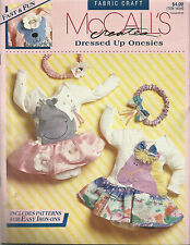 McCall's Creates Pattern Leaflet-Dressed Up-Infants-Machine Applique