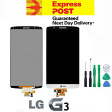 NEW LG G3 D855 LCD Digitizer Touch Screen Glass Assembly Replacement White