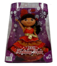 Dora the Explorer Holiday Collector Doll ~ A Dora Christmas ~ NEW ~ Fisher Price
